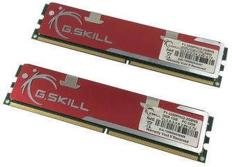 Качественная память G.Skill DDR 1Gb PC-3200 400MHz INTEL+AMD ОЗУ (с радиаторами)