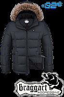 Куртка на меху мужская Braggart Aggressive - 4233K графит