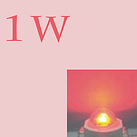 Led диод 1w (Red)