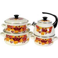 Набор посуды КМК Осенний букет из 8 предметов