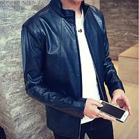 Мужская кожаная куртка. Модель 2013, фото 1