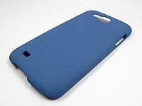 Пластиковый чехол Samsung Galaxy Premier I9260 (синий), фото 1