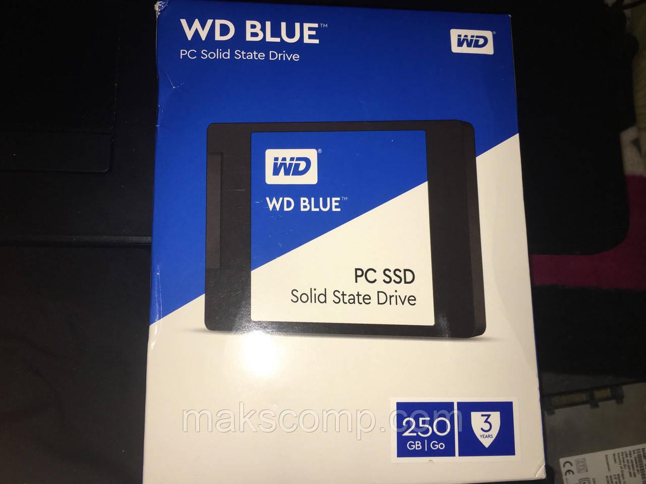 """SSD WD Blue  250Gb 2.5"""" SATA III"""