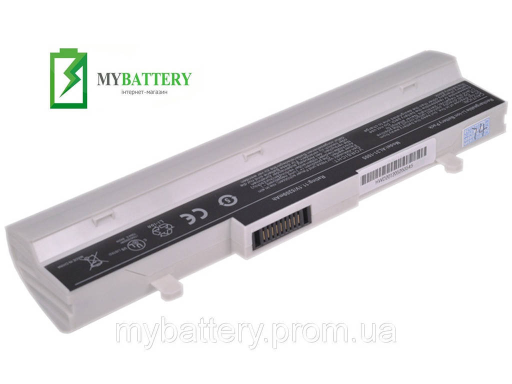 Аккумуляторная батарея Asus AL32-1005 Eee 1005P 1005PE 1005PEG 1001HA 1001P R1001PX White