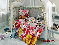 Набор в кроватку из Ранфорса №02
