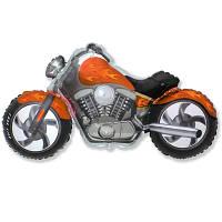 Мотоцикл оранжевый