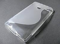 Полимерный TPU чехол LG Optimus L3 E400
