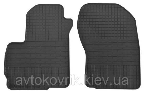 Резиновые передние коврики в салон Mitsubishi Outlander II (XL) 2006-2012 (STINGRAY)