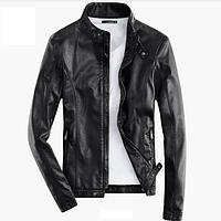 Мужская кожаная куртка. Модель 2014, фото 1