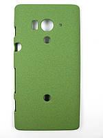 Пластиковый чехол Sony Xperia Acro S LT26w (зеленый), фото 1