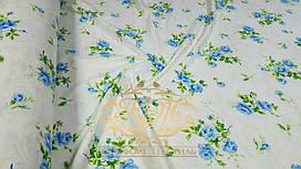 Голубая роза, фланель (Евро)