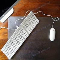 Коврик под ноутбук для защиты стола прозрачный 40х50см. Толщина 2,0мм
