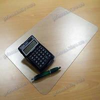 Коврик под ноутбук для защиты стола прозрачный 40х60см. Толщина 2,0мм