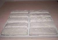 """Полиуретановая форма для изготовления гипсовой плитки  """"Старый кирпич"""""""