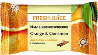 МЫЛО FRESH JUICE ORANGE & CINNAMON 75