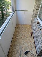 Пол с OSB на балконе, фото 1