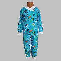 Пижама на мальчика с манжетами( разные расцветки), фото 1