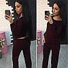 Женский стильный костюм в расцветках. Ос-39-0117, фото 4
