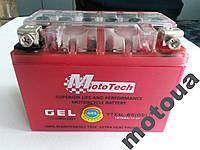 Акумулятор 4A 12V Honda/Yamaha (YTX4L-BS) Mototech гелевий 112x67x85