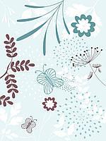 Дизайнерская бумага #1120. Бабочки.
