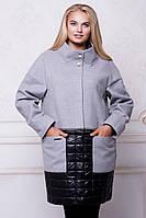 Женское кашемировое пальто большие размеры