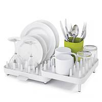 Регулируемая сушилка для посуды Joseph Joseph Connect Белая 85034