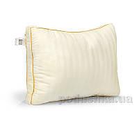 Пуховая подушка MirSon Carmela  90% пух и 30% пух З-х камерная средняя 204 50х70 см