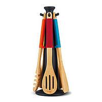 Набор деревянных лопаточек на подставке Joseph Joseph Elevatе Wood 10127