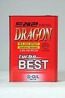 Полусинтетическое моторное масло DRAGON TURBO BEST 15W-40