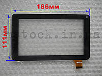 Touch screen (Сенсор) Assistant AP-700/ AP-710/ AP-711 30pin (186*111) Чёрный (TEST OK)