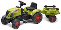 Детский трактор на педалях Falk 992C CLAAS ARES 657 ATZ