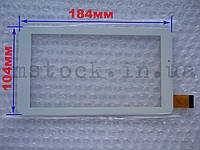 Touch screen (Сенсор) Assistant AP-725G/ AP-727G/ AP-777G (184*104) Белый (TEST OK), фото 1