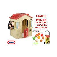 Домик для детей и тележка хозяйственная Little Tikes 637902_977