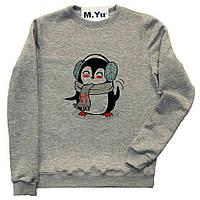 Свитшот Пингвинчик с шарфом