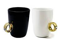 Чашка с Кольцом с Бриллиантом