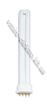 Лампа PL 11w 2g7 4100k Delux