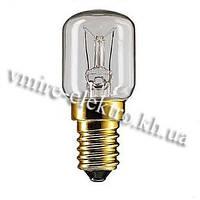 Лампочка жаростойка 300 °C Philips T25 25W Е14, фото 1