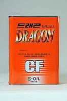 Полусинтетическое моторное масло DRAGON CF 5W-30