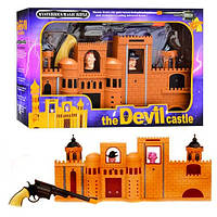 """Игровой набор Тир SLW 8091 """"Большой замок с мишенями"""""""