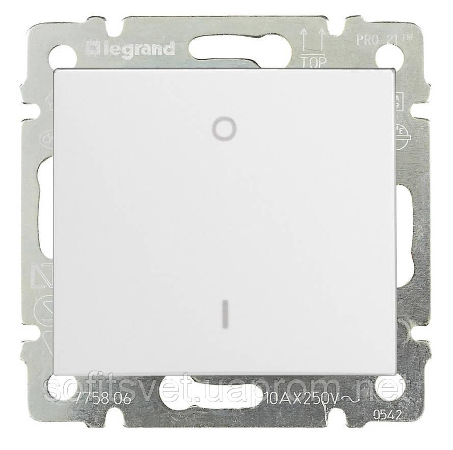 Переключатель трехполюсный Valena для люминесцентных ламп 10 А 400 В~ белый Legrand 774403