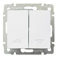 Выключатель без фиксации с электрической блокировкой Valena 10 А 250 В~ белый Legrand 774414 для жалюзи