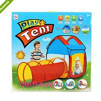Детская палатка домик с трубой M 3307