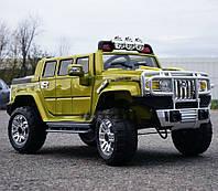 Детский электромобиль Джип Hummer JJ 255 EBR-10,хаки***