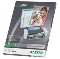 Пленка для ламинирования Leitz iLAM А4, 80 мкр., 100 шт.