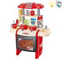 Детская кухня,свет,звук (арт. WD-B15), пластик, Цветная коробка, 0.00x0.00x0.00см, 3-6 лет, Jambo, 100997194