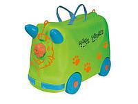 Детский чемоданчик (арт. QX-3335-3), пластик, Цветная коробка, 47.00x22.30x32.50см, 3-6 лет, Jambo, 100946904