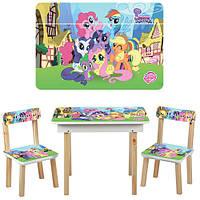 Детский столик со стульчиками и ящичком 503-9-2