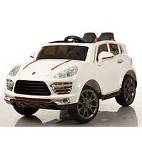 Детский электромобиль Porshe M 3281 EBLR-1, кожа, белый***