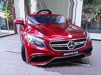 Детская машина на аккумуляторе M 2797 EBLRS-3 Mercedes (автопокраска, EVA колёса, кожа)***