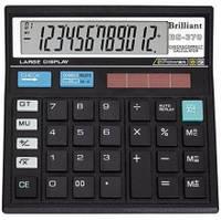 Калькулятор Brilliant BS 370, 12р